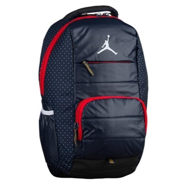 ナイキ ジョーダン Jordan ユニセックス バッグ バックパック・リュック【All World Backpack】Obsidian/Black/Fire Red/White