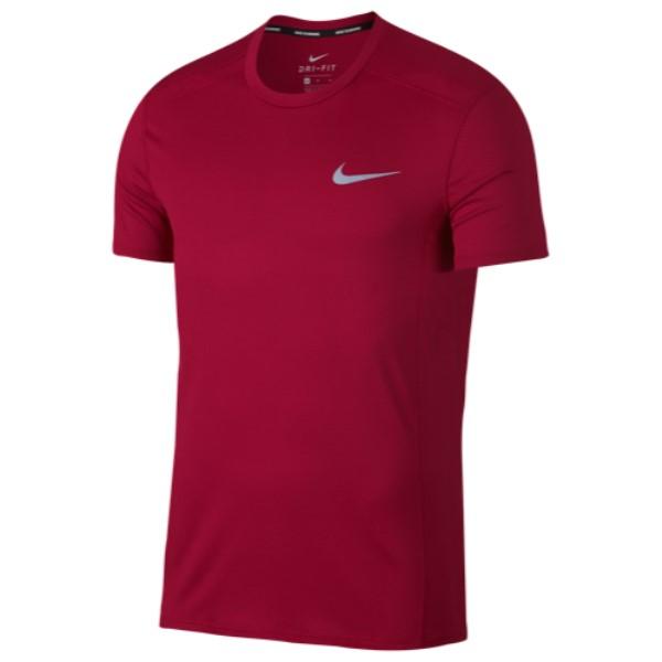 100%本物 ナイキ Nike メンズ ランニング メンズ Sleeve・ウォーキング トップス【Breathe Cool T-Shirt】Red Miler Short Sleeve T-Shirt】Red Crush/Heather, 超歓迎:4e6bc4c1 --- hortafacil.dominiotemporario.com