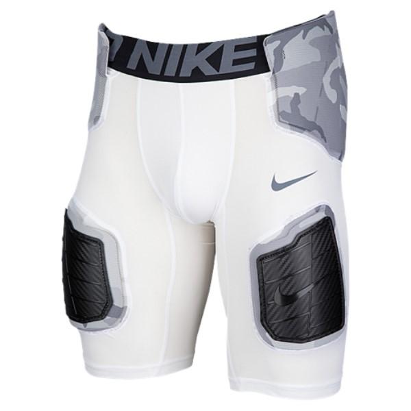 ナイキ Nike メンズ アメリカンフットボール ボトムス・パンツ【Hyperstrong Hardplate Core Short Girdle】White/Dark Grey/Camo