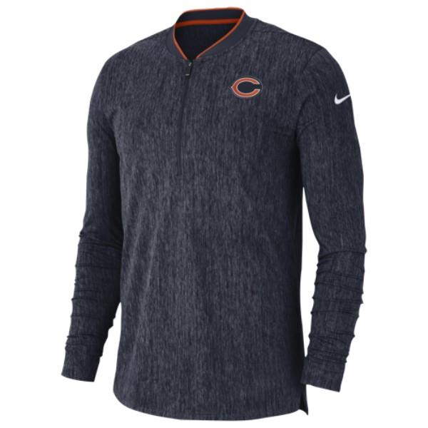 ナイキ Nike メンズ トップス スウェット・トレーナー【NFL Coaches Sideline 1/2 Zip Top】Marine
