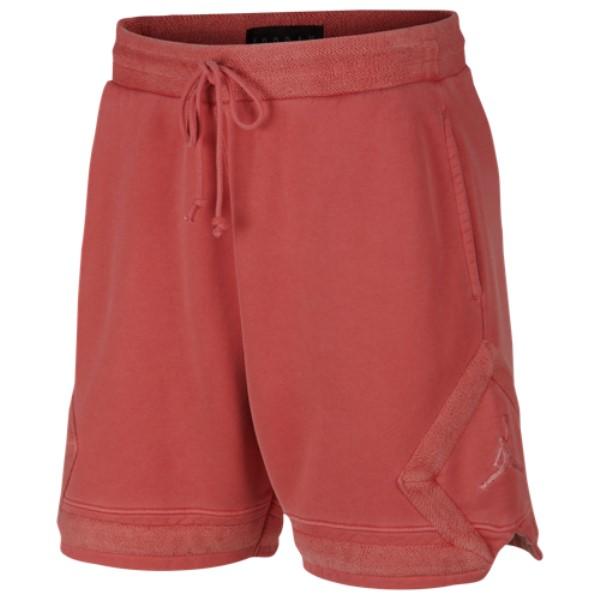 ナイキ ジョーダン Jordan メンズ バスケットボール ボトムス・パンツ【Washed Wings Diamond Fleece Shorts】Gym Red