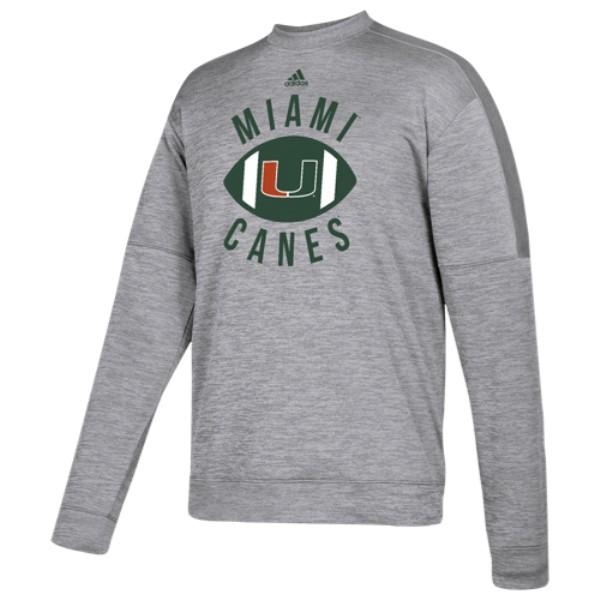 アディダス adidas メンズ トップス フリース【College Team Issue Fleece PO Crew】Grey