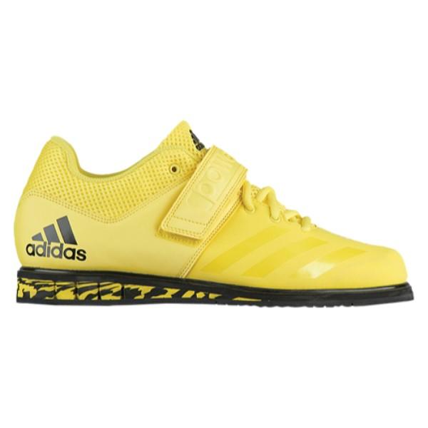 アディダス adidas メンズ フィットネス・トレーニング シューズ・靴【Powerlift.3.1】Shock Yellow/Core Black