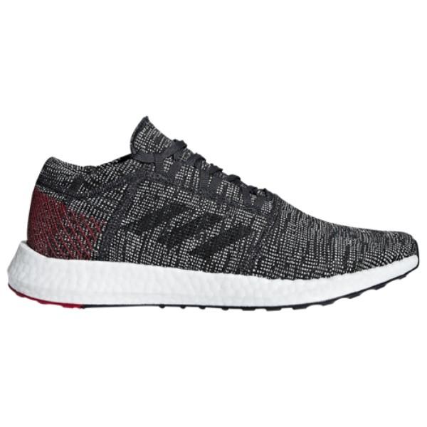 アディダス adidas メンズ ランニング・ウォーキング シューズ・靴【Pureboost Go】Core Black/Core Black/Scarlet