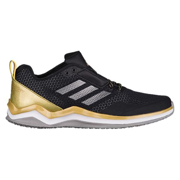 アディダス adidas メンズ 野球 シューズ・靴【Speed Trainer 3.0】Black/Iron Metallic/Gold Metallic