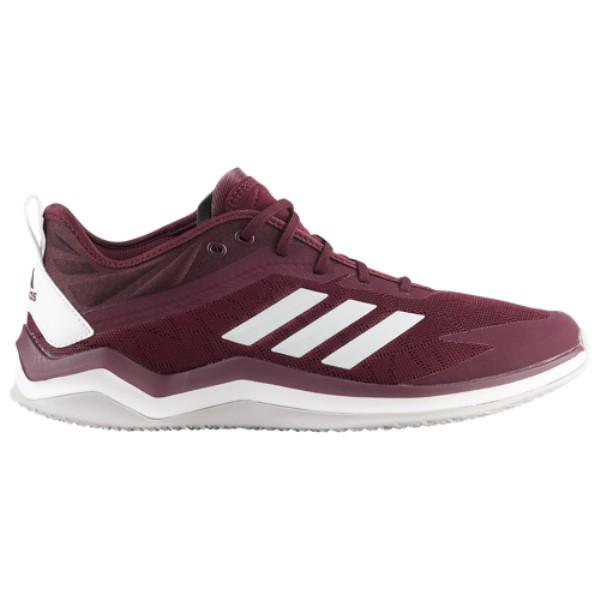 アディダス adidas メンズ 野球 シューズ・靴【Speed Trainer 4】Maroon/White