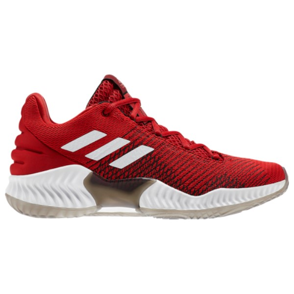 アディダス adidas メンズ バスケットボール シューズ・靴【Pro Bounce Low 2018】Red/White/Black