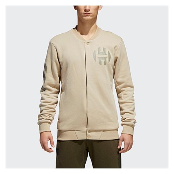 アディダス adidas メンズ トップス フリース【Harden Varsity Jacket】Raw Gold