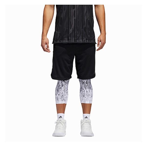 アディダス adidas メンズ バスケットボール ボトムス・パンツ【Electric 2-in-1 Shorts】Black