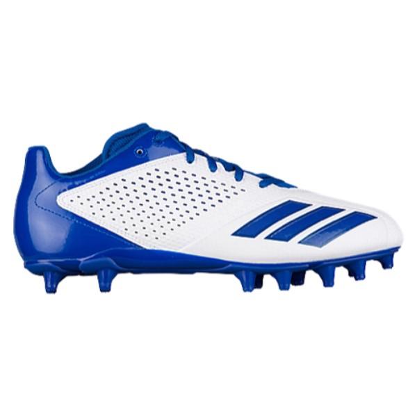 アディダス adidas メンズ アメリカンフットボール シューズ・靴【5-Star Low】White/Collegiate Royal/Collegiate Royal
