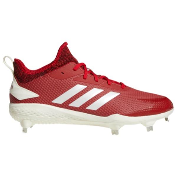 アディダス adidas メンズ 野球 シューズ・靴【adiZERO Afterburner V】Red/White