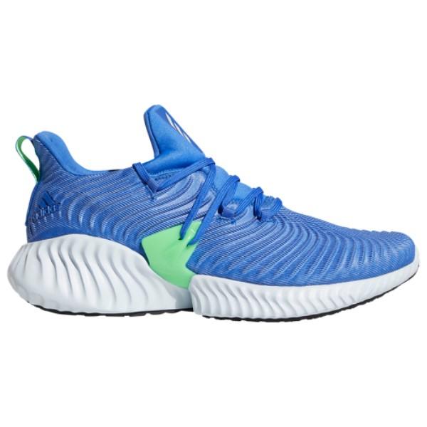アディダス adidas メンズ ランニング・ウォーキング シューズ・靴【Alphabounce Instinct】Hi-Res Blue/Aero Blue/Shock Lime