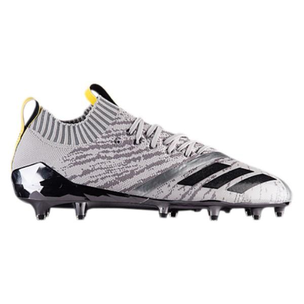 アディダス adidas メンズ アメリカンフットボール シューズ・靴【adiZero 5-Star 7.0 X Primeknit】Grey/Black/Vivid Yellow