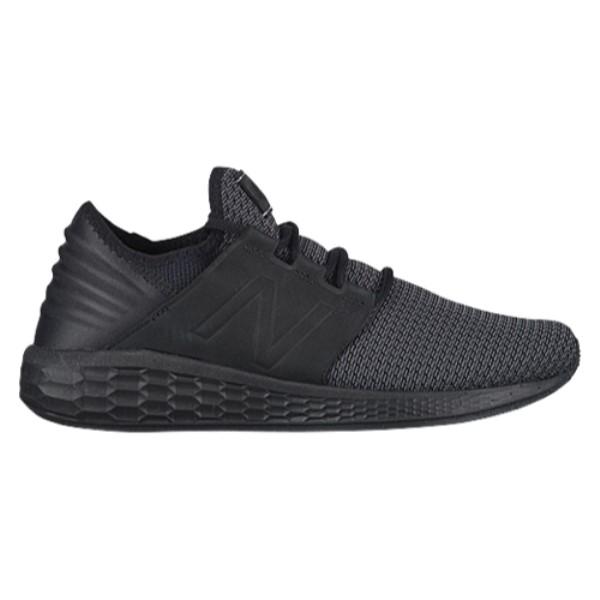 ニューバランス New Balance メンズ ランニング・ウォーキング シューズ・靴【Fresh Foam Cruz V2 Nubuck】Black/Magnet