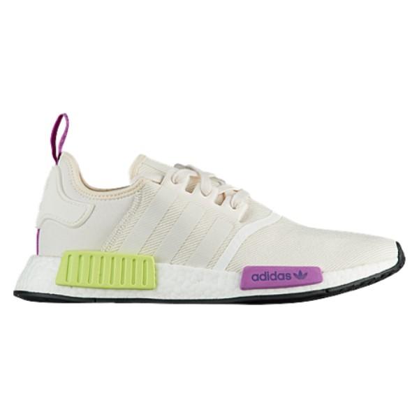 アディダス adidas Originals メンズ ランニング・ウォーキング シューズ・靴【NMD R1】Chalk White/Chalk White/Solar Yellow