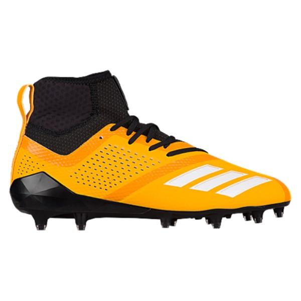 アディダス adidas メンズ アメリカンフットボール シューズ・靴【adiZero 5-Star 7.0 Mid】Gold Sld/Black/White