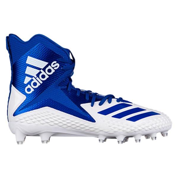 アディダス adidas メンズ アメリカンフットボール シューズ・靴【Freak X Carbon High】White/College Royal