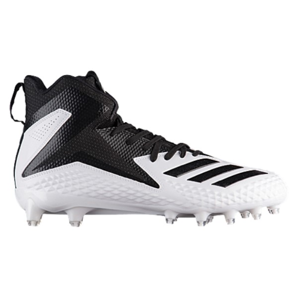 アディダス adidas メンズ アメリカンフットボール シューズ・靴【Freak X Carbon Mid】White/Black/Black
