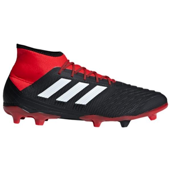 アディダス adidas メンズ サッカー シューズ・靴【Predator 18.2 FG】Core Black/Footwear White/Red