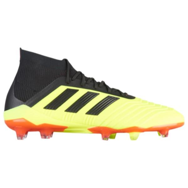 アディダス adidas メンズ サッカー シューズ メンズ・靴 サッカー【Predator 18.1 FG アディダス】Solar Yellow/Core Black, カーマイスター:70f26252 --- acessoverde.com
