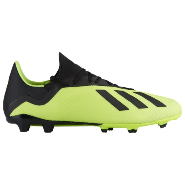 アディダス adidas メンズ サッカー シューズ・靴【X 18.3 FG】Solar Yellow/Core Black/Footwear White