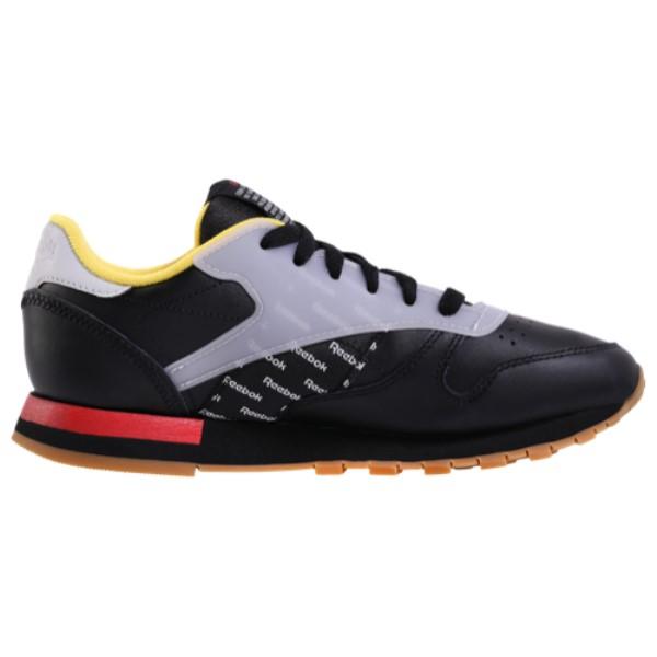 リーボック Reebok メンズ ランニング・ウォーキング シューズ・靴【Classic Leather Altered】Black/Excellent Red/Yellow