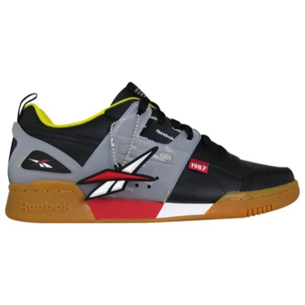 リーボック Reebok メンズ フィットネス・トレーニング シューズ・靴【Workout Plus Altered】Black/Excellent Red/Yellow