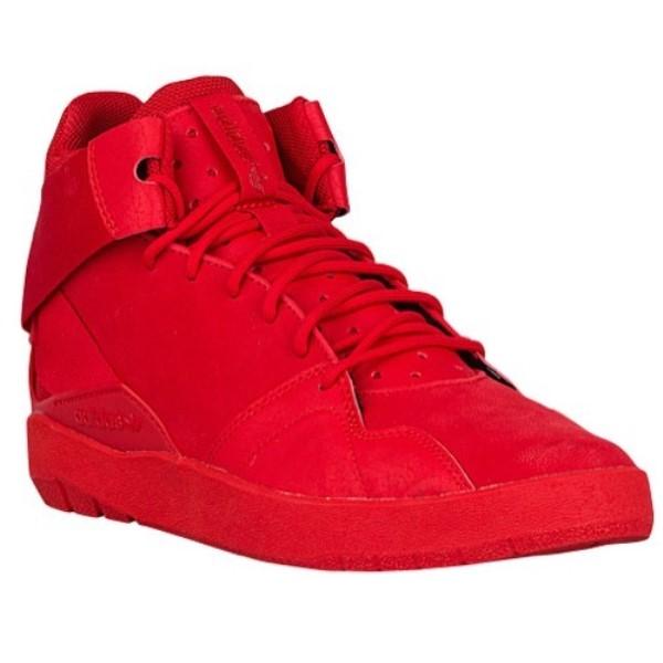 アディダス adidas Originals メンズ バスケットボール シューズ・靴【Crestwood Mid】Scarlet/Scarlet/Scarlet