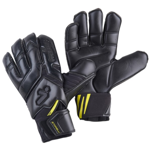 ストレリ Storelli Sports メンズ サッカー グローブ【Exoshield Gladiator Legend 2.0 GK Glove】Black