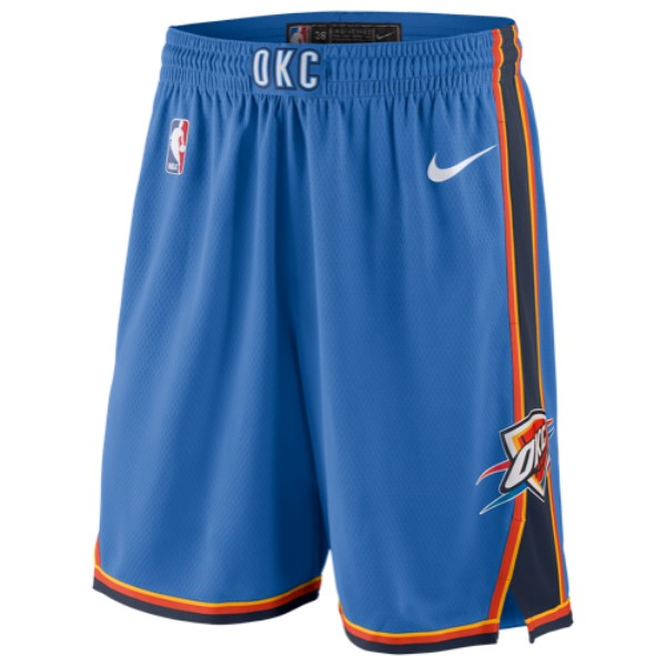 ナイキ Nike メンズ バスケットボール ボトムス・パンツ【NBA Swingman Shorts】Signal Blue/College Navy