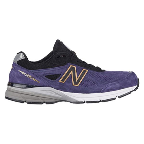 ニューバランス New Balance メンズ ランニング・ウォーキング シューズ・靴【990】Black/Wild Indigo