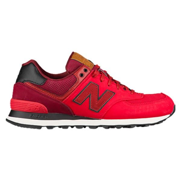 新素材新作 ニューバランス New Balance メンズ ランニング・ウォーキング Balance ニューバランス メンズ シューズ・靴【574】Chinese Red/Mercury Red, L.K&Shop:9eff08f1 --- supercanaltv.zonalivresh.dominiotemporario.com