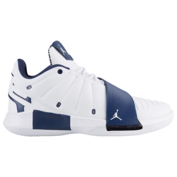ナイキ ジョーダン Jordan メンズ バスケットボール シューズ・靴【CP3.XI】White/Midnight Navy