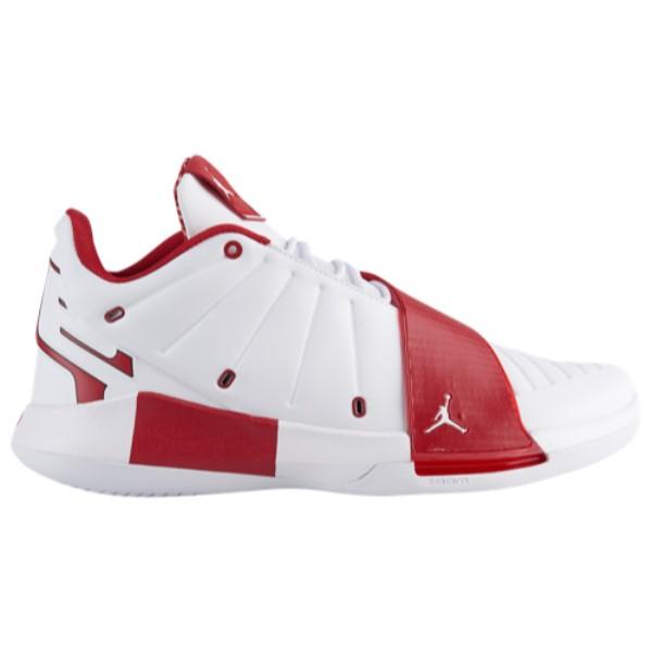 ナイキ ジョーダン Jordan メンズ バスケットボール シューズ・靴【CP3.XI】White/Gym Red