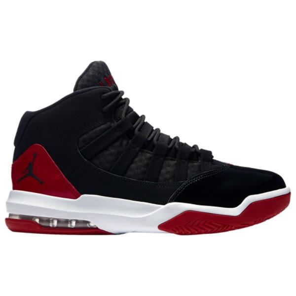 ナイキ ジョーダン Jordan メンズ バスケットボール シューズ・靴【Max Aura】Black/Black/Gym Red
