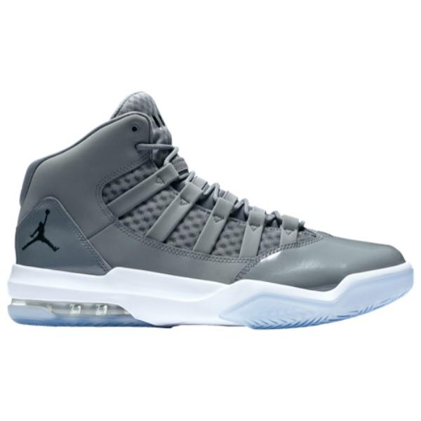 ナイキ ジョーダン Jordan メンズ バスケットボール シューズ・靴【Max Aura】Cool Grey/Black/Clear