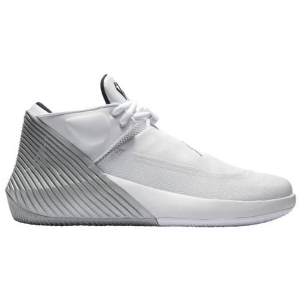 ナイキ ジョーダン Jordan メンズ バスケットボール シューズ・靴【Why Not Zero.1 Low】White/Black/Metallic Silver