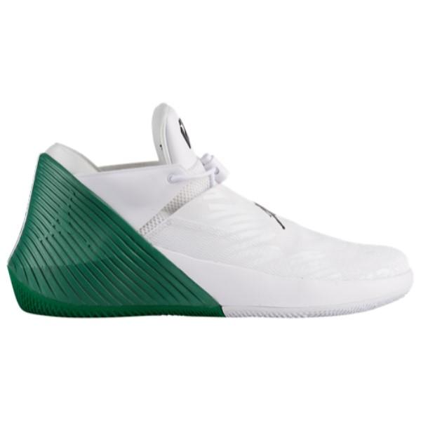 ナイキ ジョーダン Jordan メンズ バスケットボール シューズ・靴【Why Not Zero.1 Low】White/Black/Pine Green