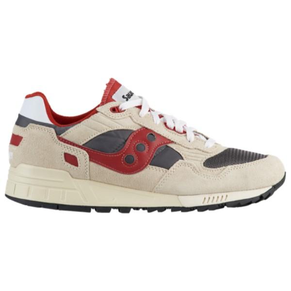 サッカニー Saucony メンズ ランニング・ウォーキング シューズ・靴【Shadow 5000 Vintage】Off White/Grey/Red