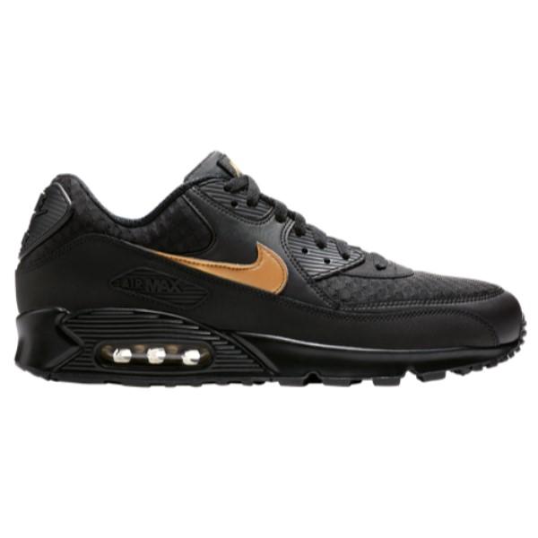 ナイキ Nike メンズ ランニング・ウォーキング シューズ・靴【Air Max 90】Black/Gold