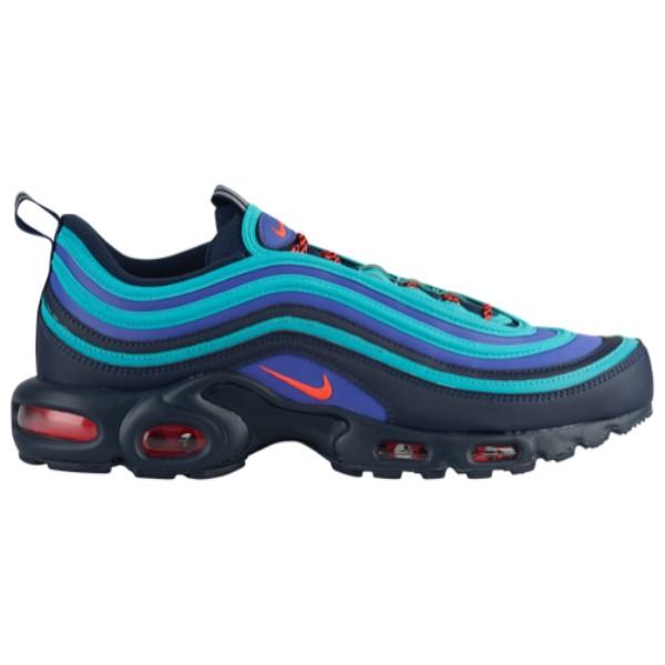 ナイキ Nike メンズ ランニング・ウォーキング シューズ・靴【Air Max Plus / 97】Obsidian/Flash Crimson/Rush Violet