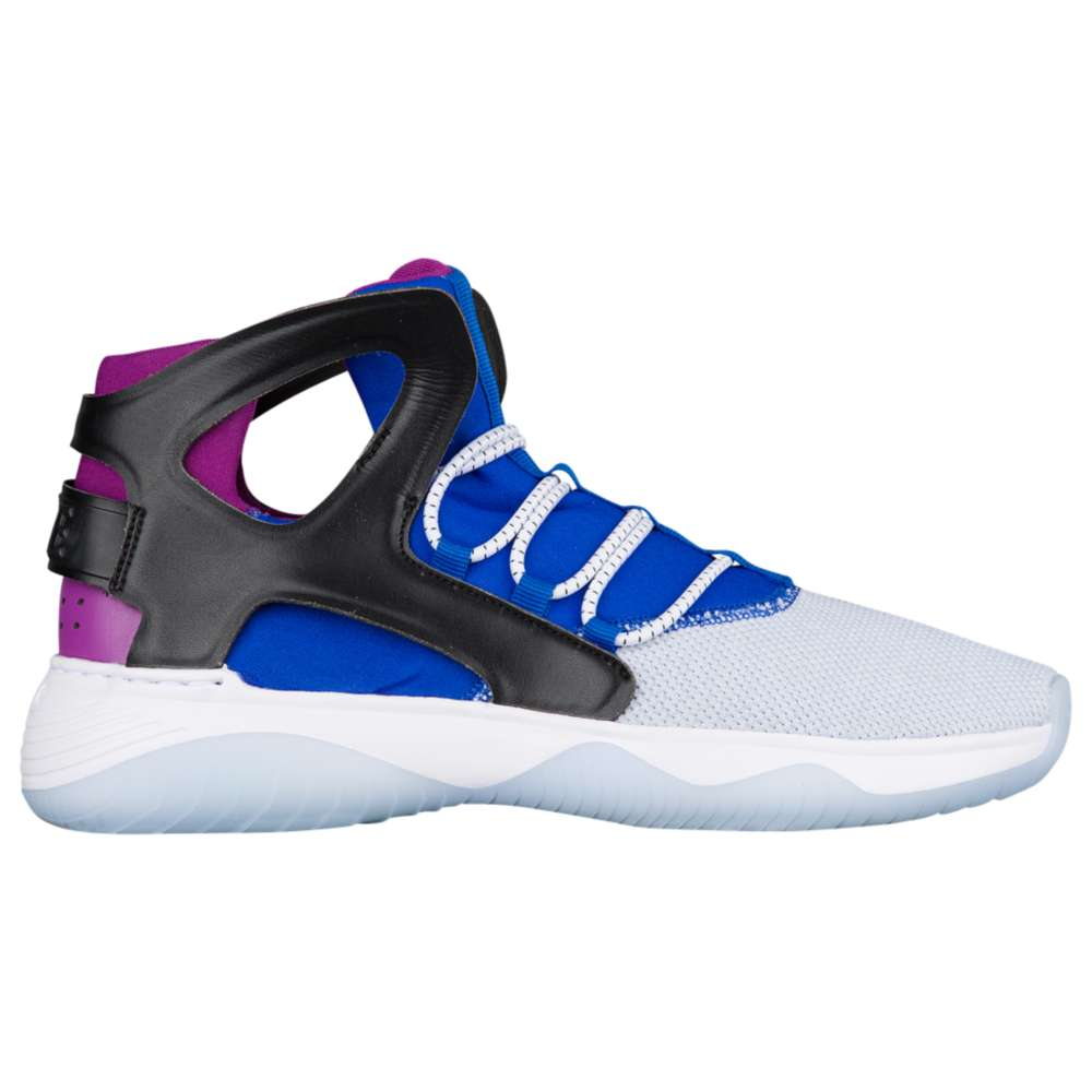 ナイキ Nike メンズ バスケットボール シューズ・靴【Air Flight Huarache Ultra】White/Black/Lyon Blue/Bold Berry
