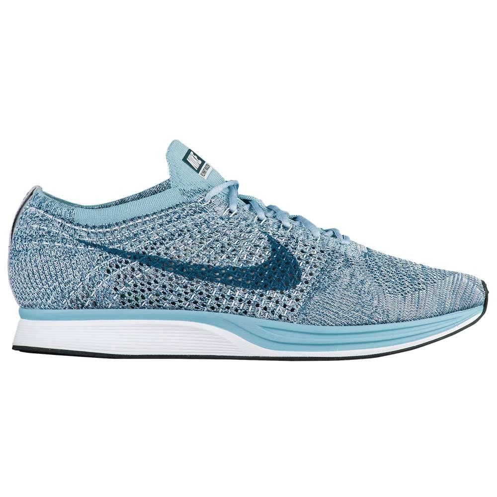 ナイキ Nike メンズ ランニング・ウォーキング シューズ・靴【Flyknit Racer】White/Legion Blue/Mica Blue