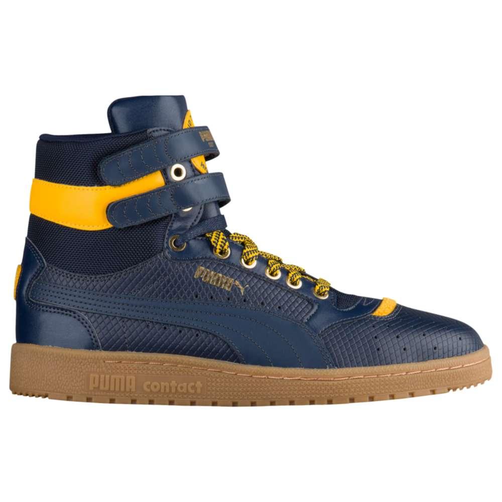 プーマ PUMA メンズ バスケットボール シューズ・靴【Sky II High】New Navy/Spectra Blue
