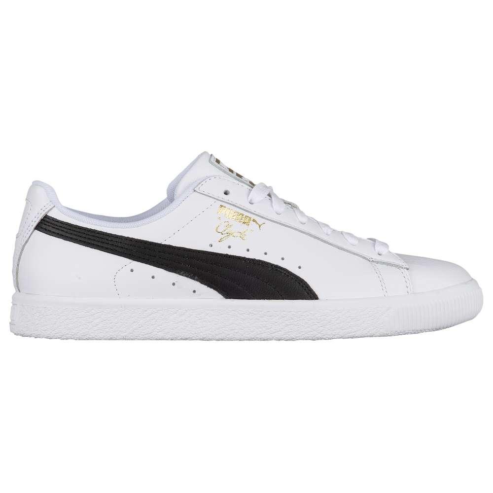 プーマ PUMA メンズ バスケットボール シューズ・靴【Clyde】White/Black/Team Gold