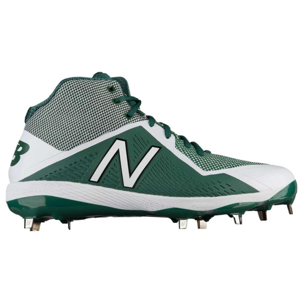 ニューバランス New Balance メンズ 野球 シューズ・靴【4040v4 Metal Mid】Green/White
