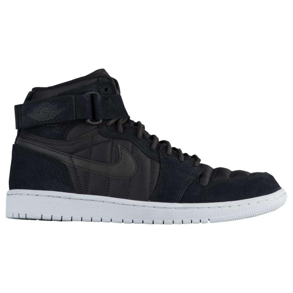 ナイキ ジョーダン Jordan メンズ バスケットボール シューズ・靴【AJ 1 High Strap】Black/Anthracite/Pure Platinum