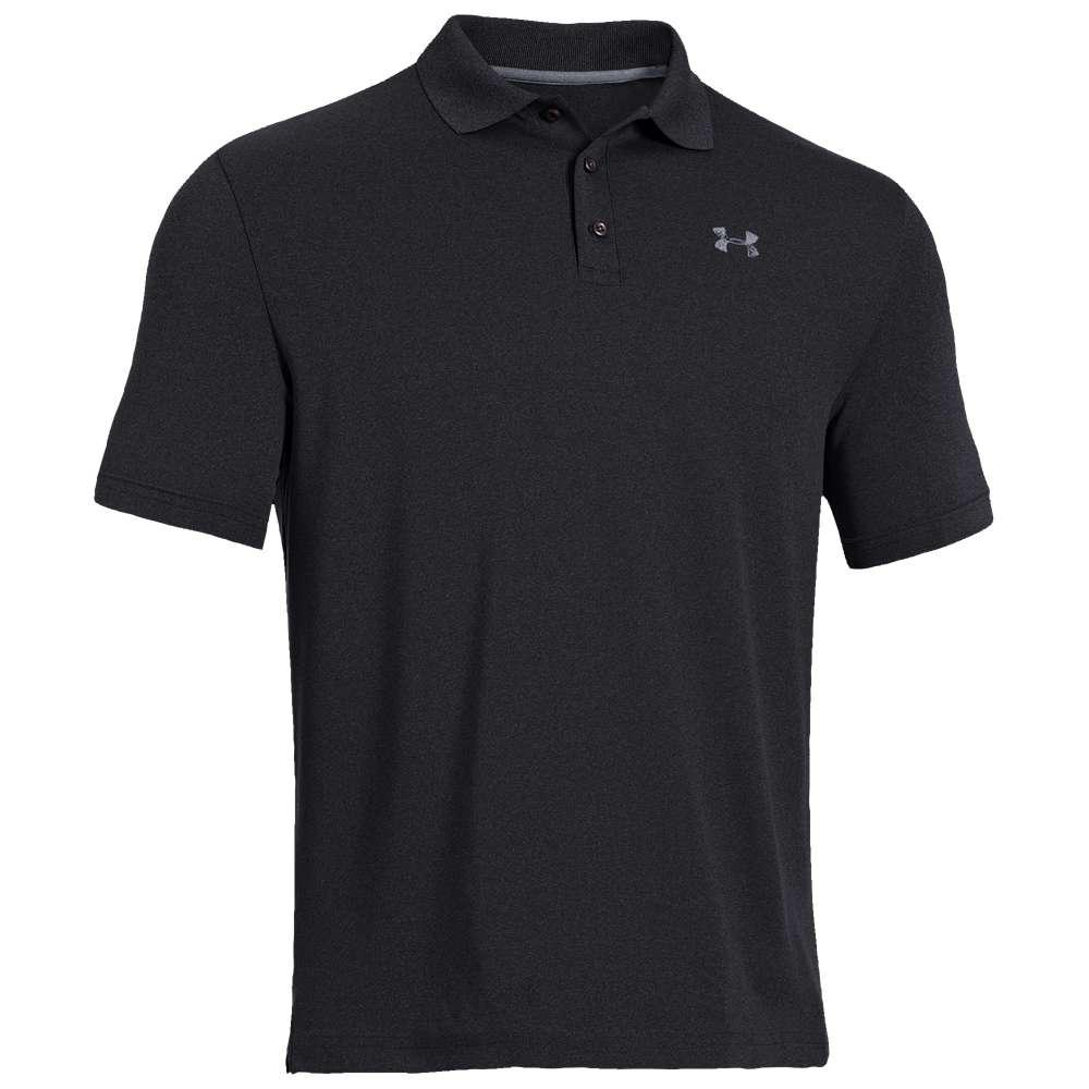 アンダーアーマー Under Armour メンズ ゴルフ トップス【Performance Golf Polo 2.0】Black/Steel