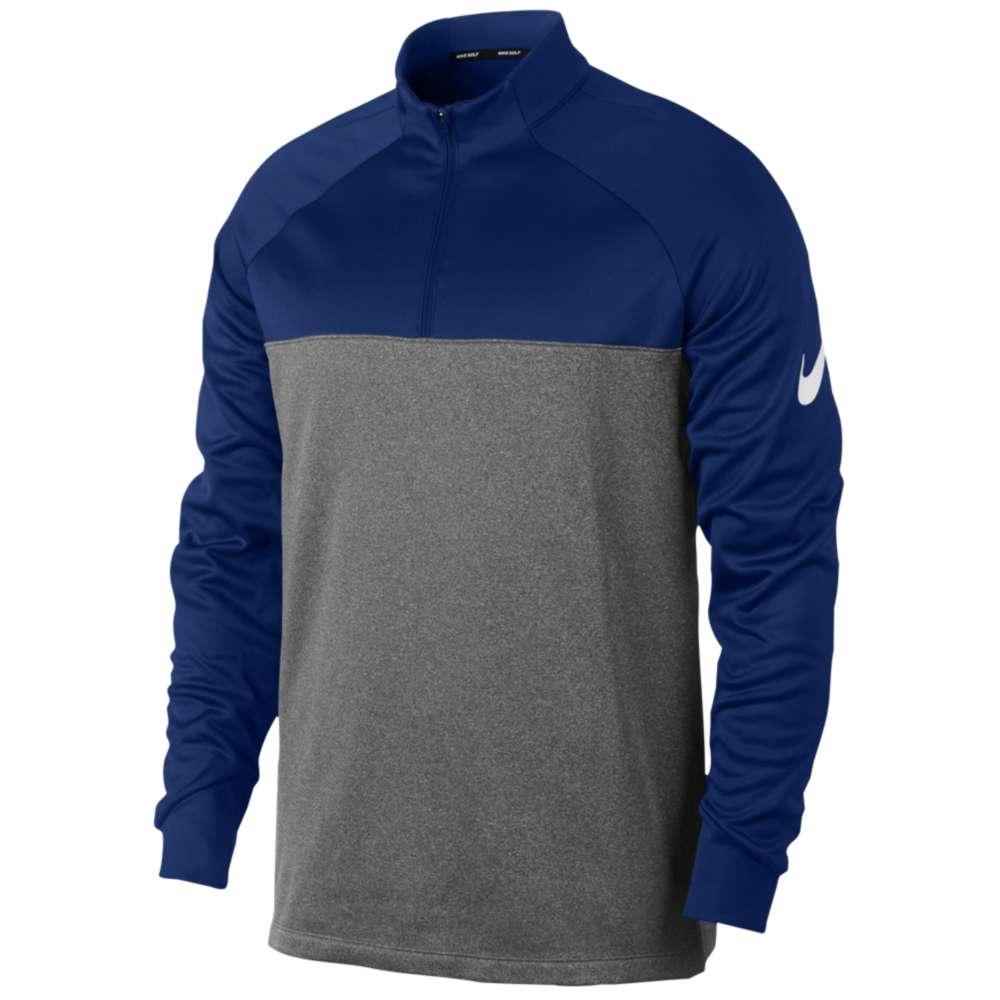 ナイキ Nike メンズ ゴルフ トップス【Therma Fit 1/2 Zip Cover Up】College Navy/Dark Grey/Heather/White
