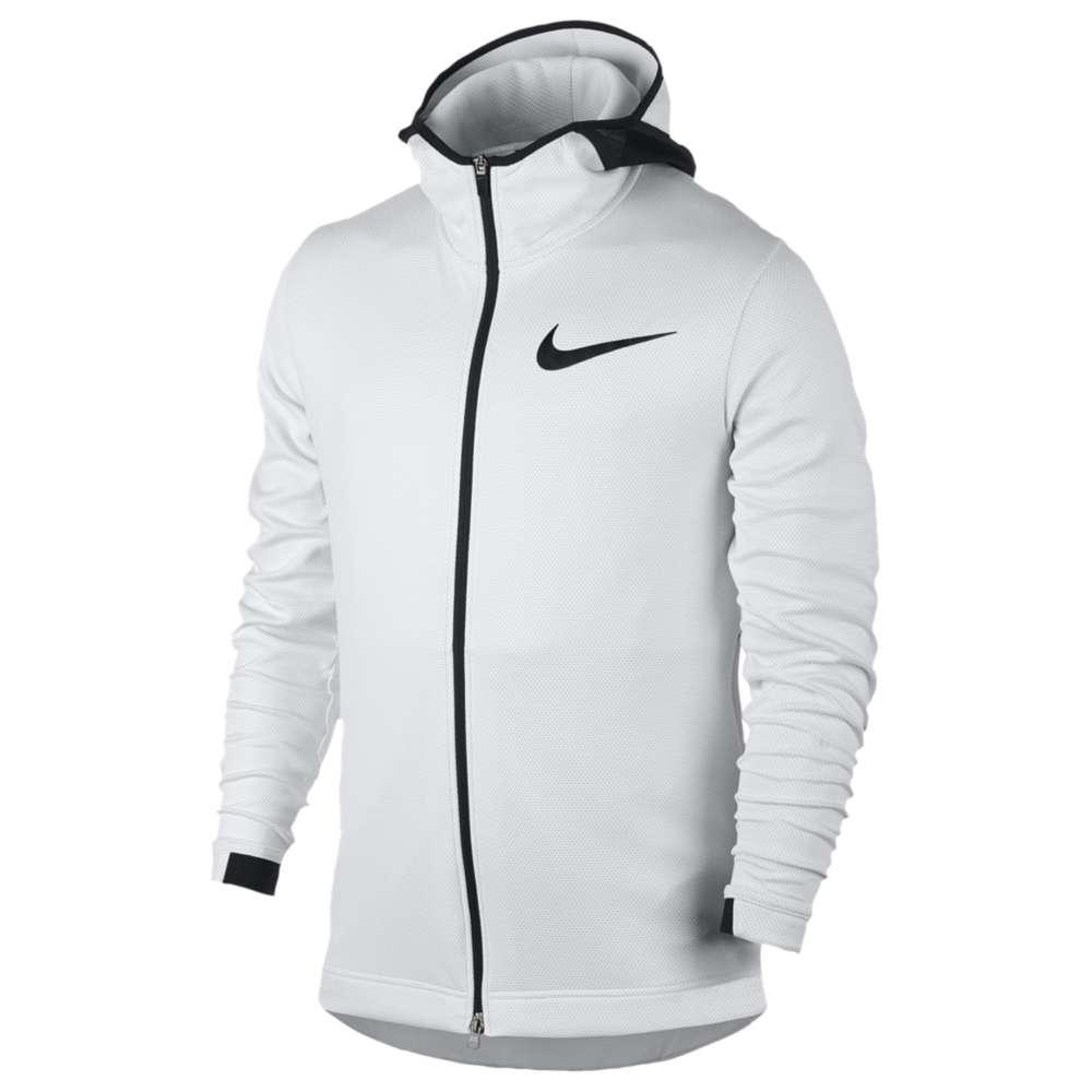 ナイキ Nike メンズ バスケットボール トップス【Thermaflex Showtime F/Z Hoodie】White/Pure Platinum/Black